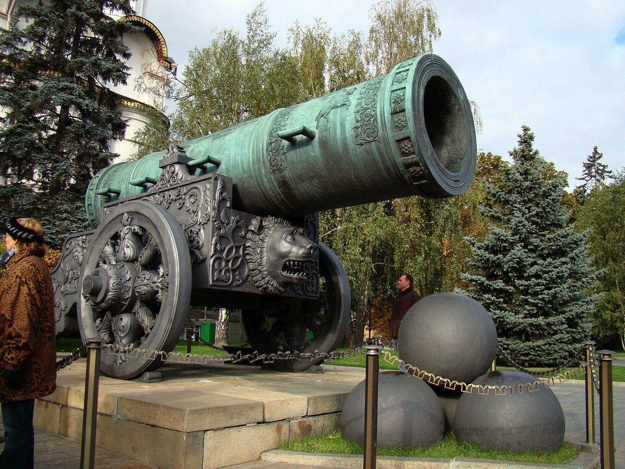 El cañón del Zar y la campana Zarina
