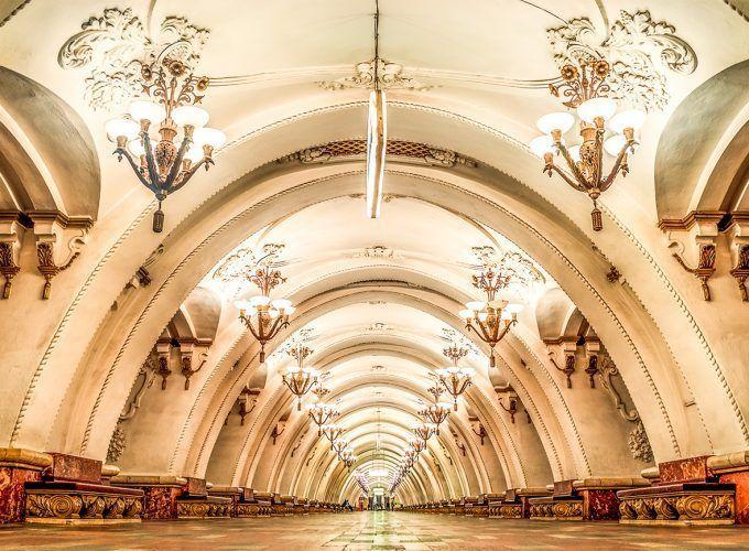 Visita guiada Metro de Moscú español