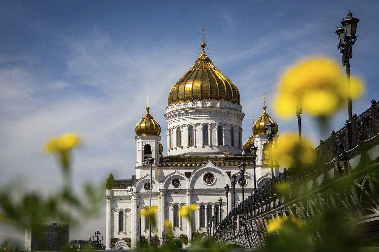 La catedral de Cristo Salvador desde el puente del Patriarca
