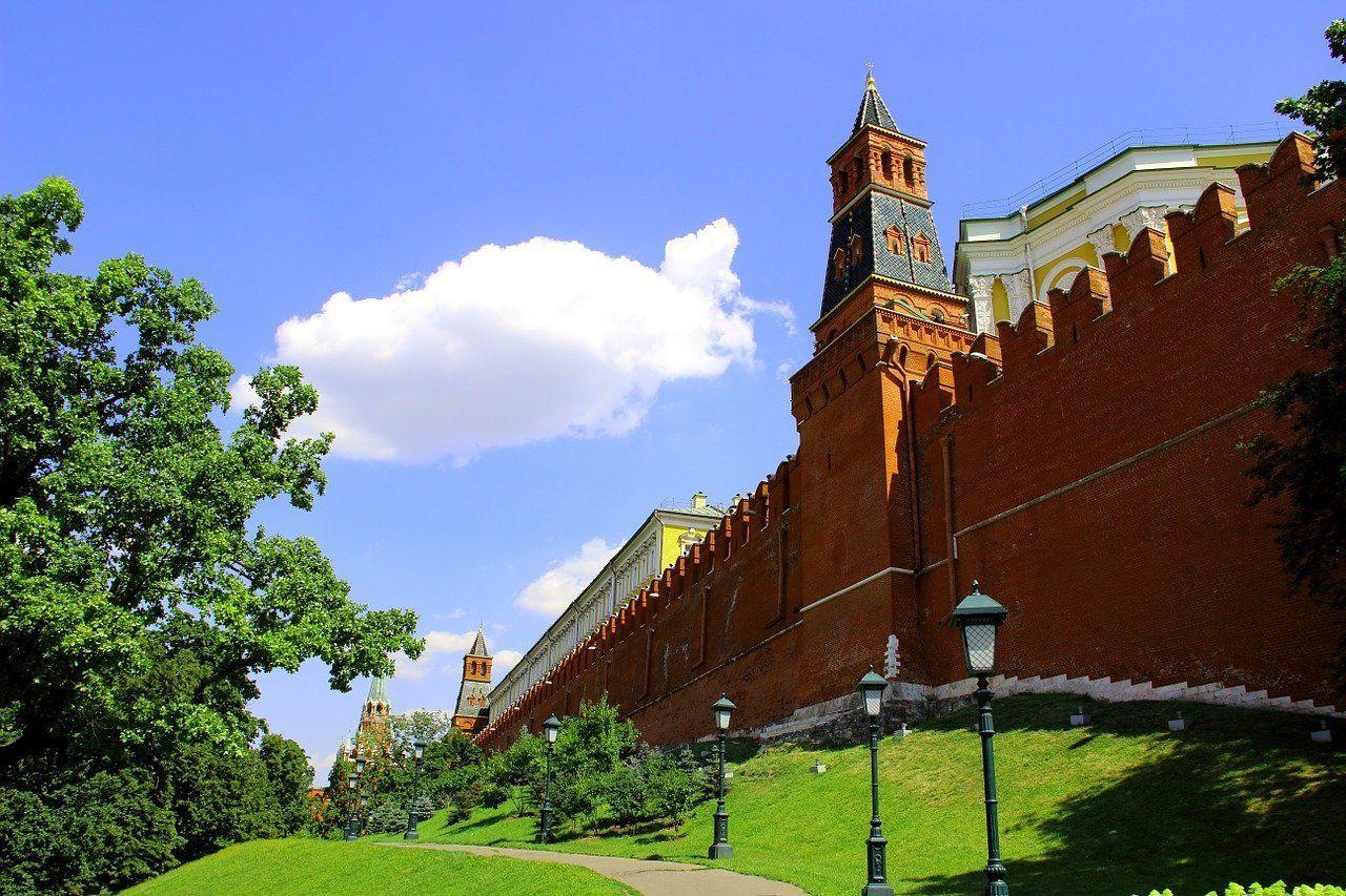 Los alrededores de la fortaleza del Kremlin