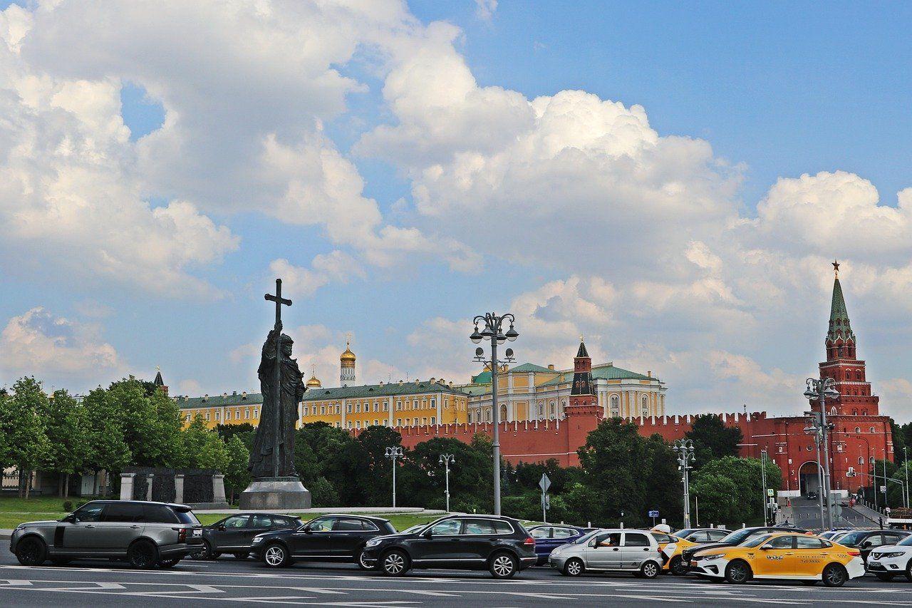 Estatua del gran príncipe del Rus de Kiev Vladimir el Grande