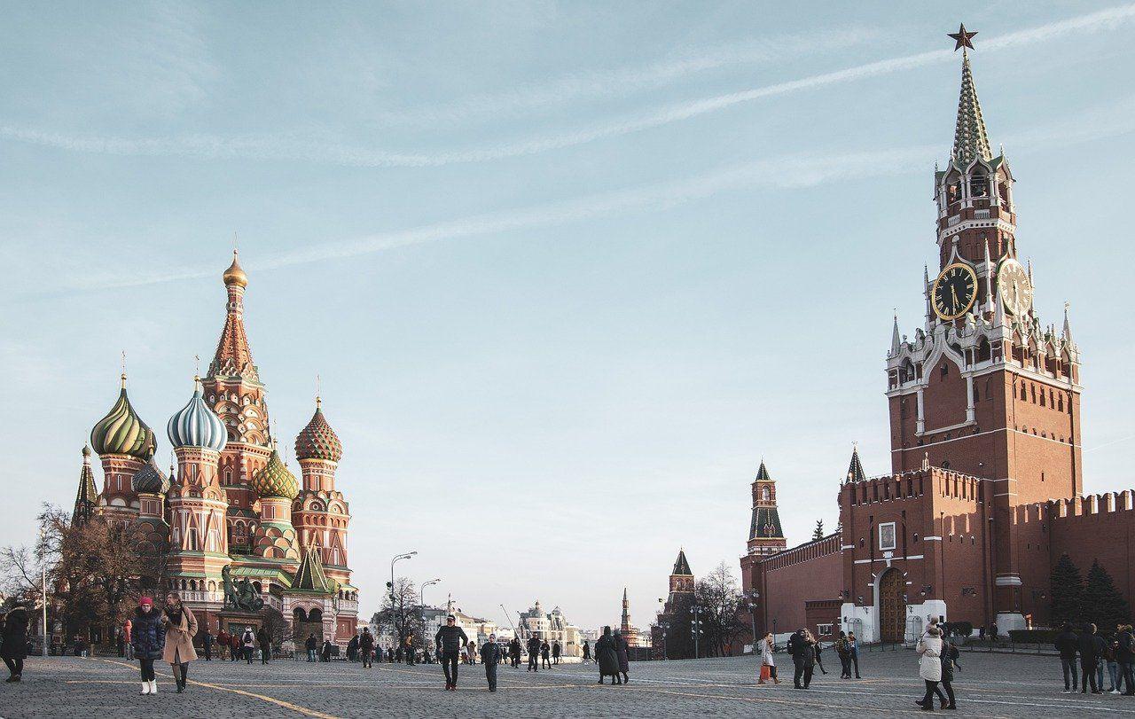 Exteriores de la catedral de San Basilio, símbolo universal de Rusia