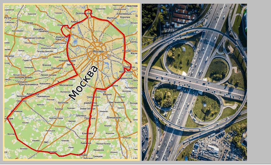 Los anillos de Moscú: Un sistema vial de crecimiento radial de la ciudad