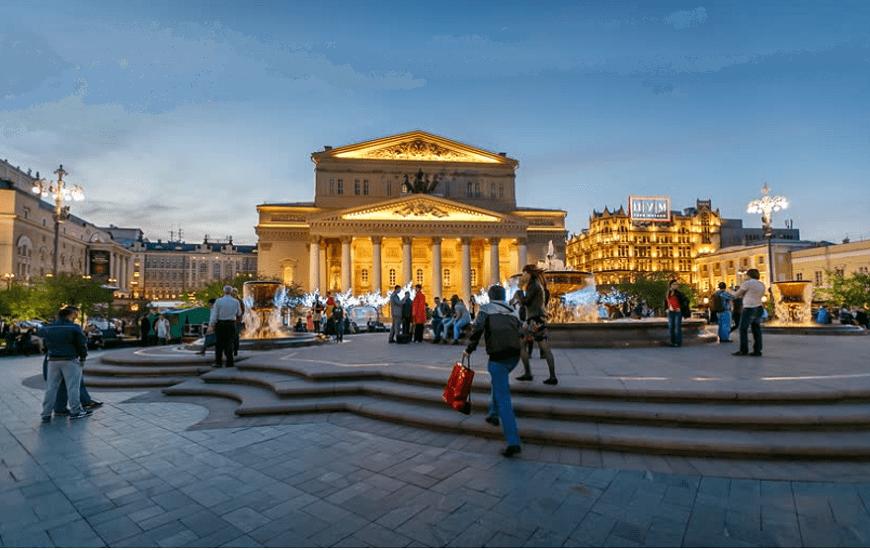Teatro Bolshoi-Moscú