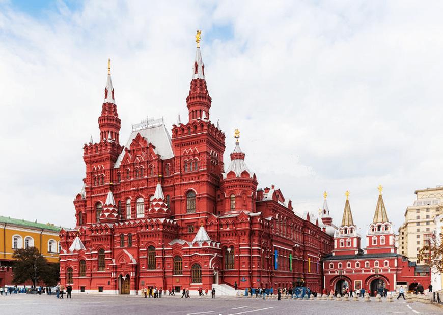 Museos-para-visitar-en-Moscú-Museo-Estatal-de-Historia