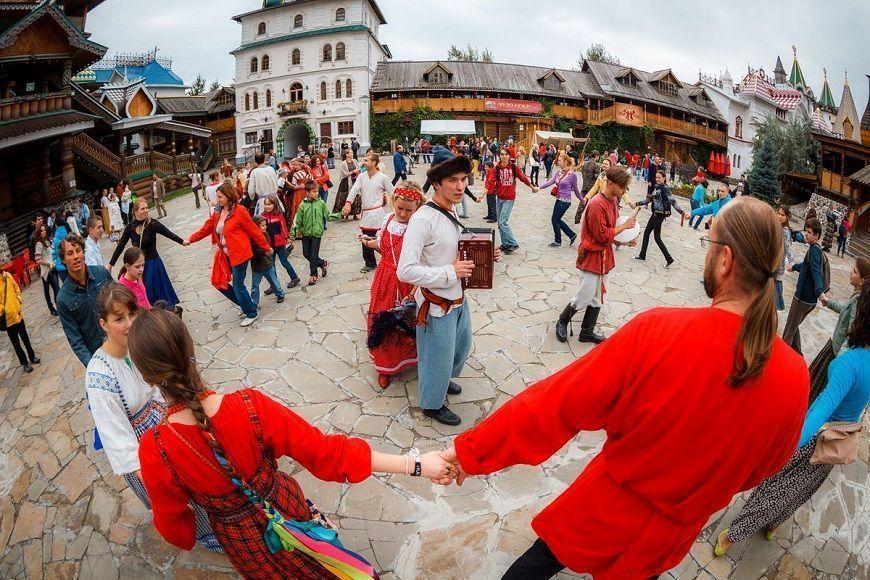 Mercado Izmailovo actividades culturales