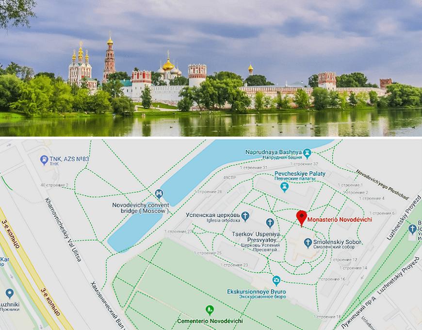 Convento-Novodévichi-ubicación