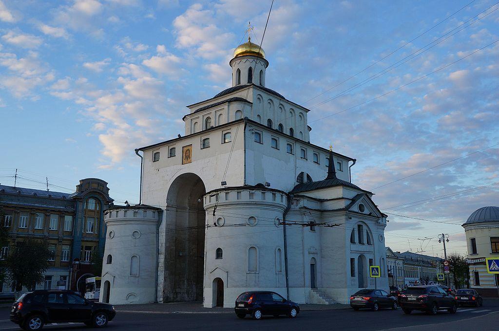 Vladímir, Vladímir: tesoro arquitectónico y turístico
