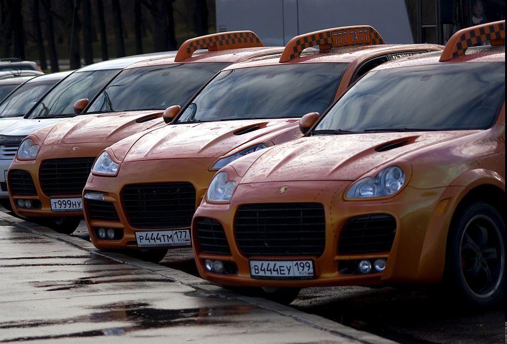 Taxi en Moscú