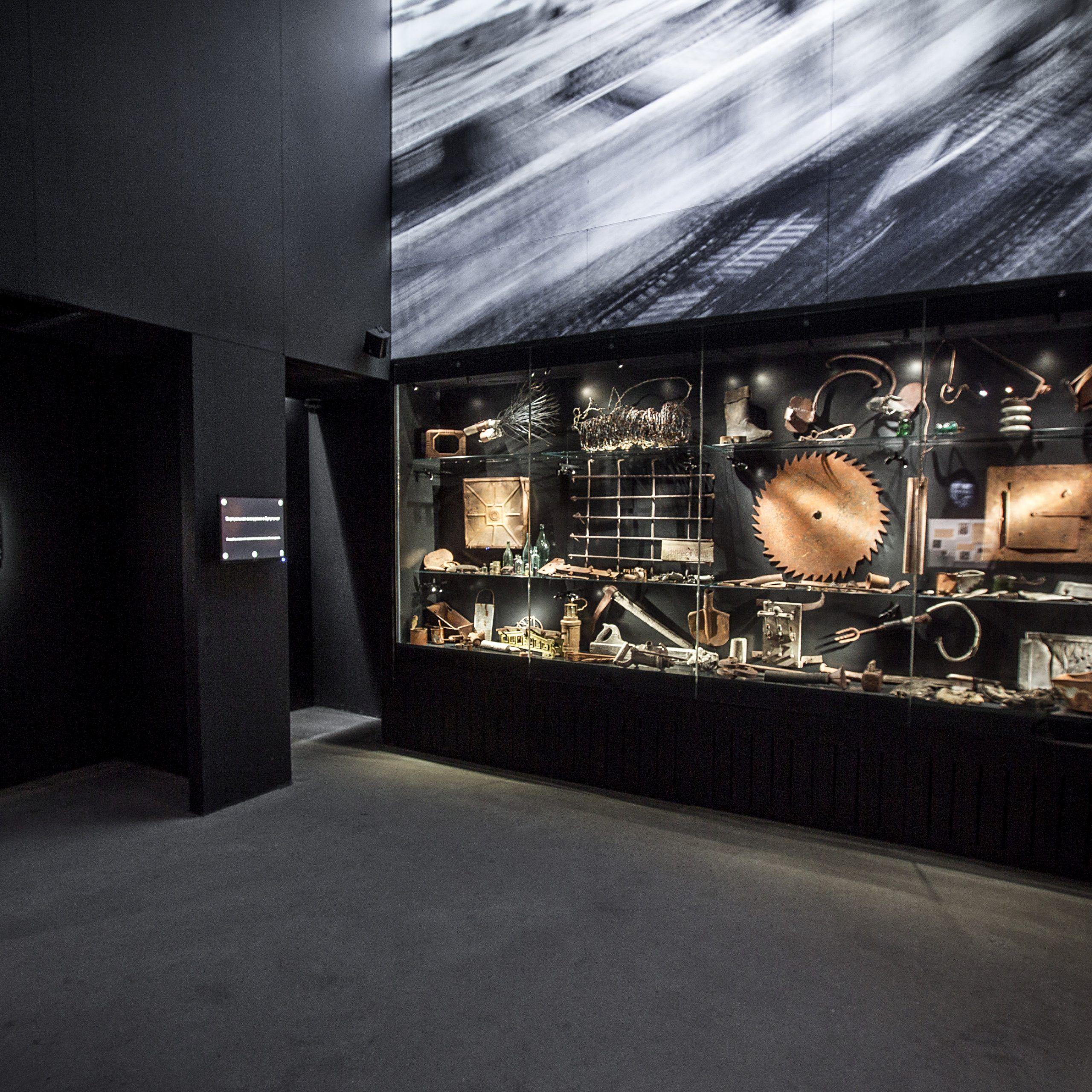Visita al interior del museo