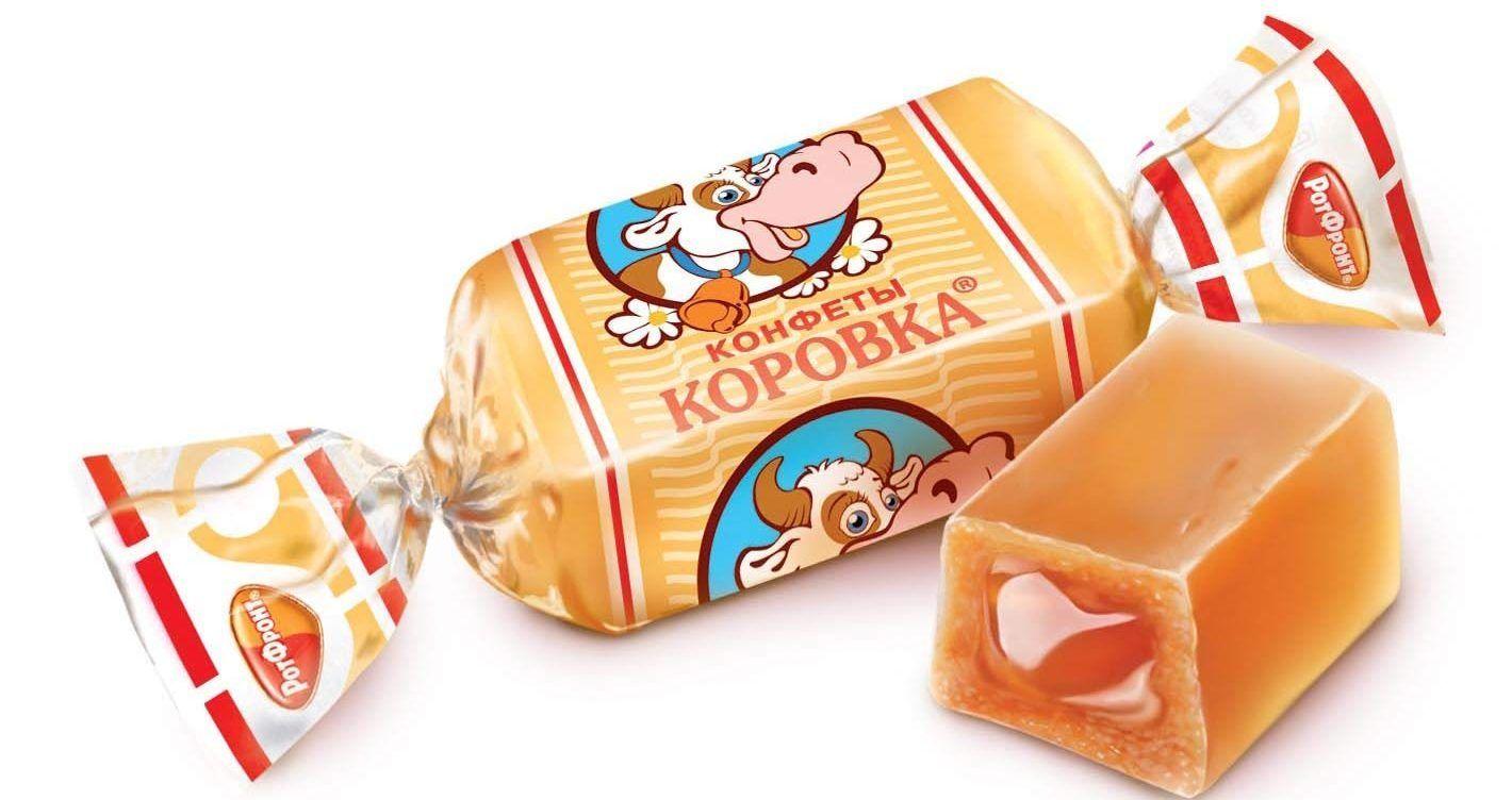 Dulces rusos: caramelos de leche condensada