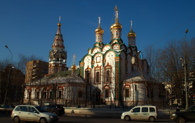 Iglesias en Moscú