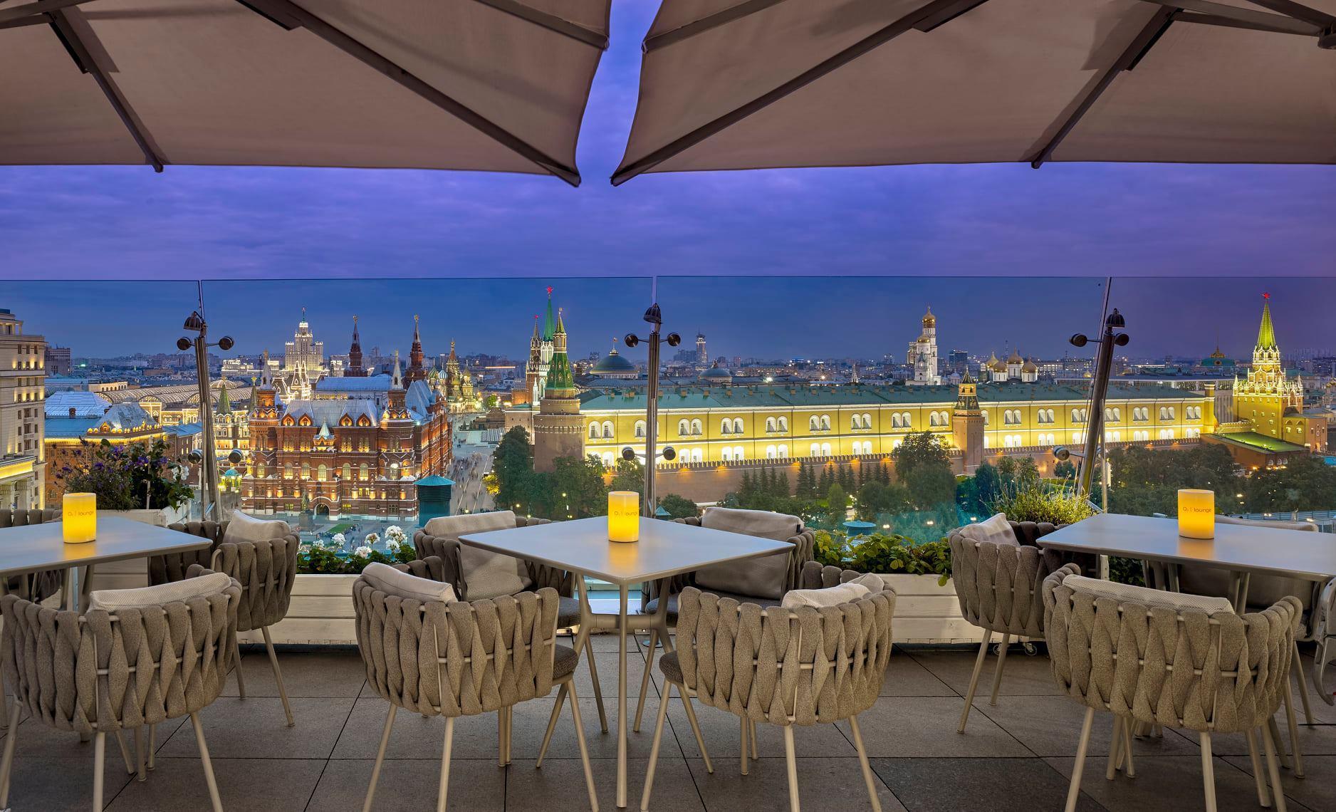 Disfruta de los mejores rooftop bars en Moscú