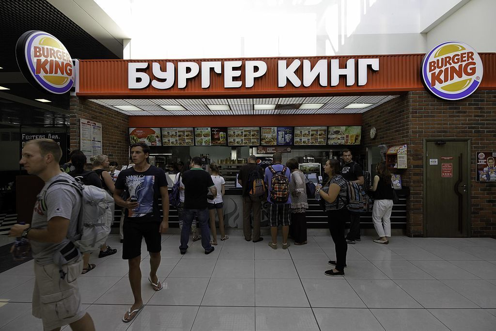 Comida rápida en Moscú, Cadenas famosas de comida rápida que también encontrarás en Moscú