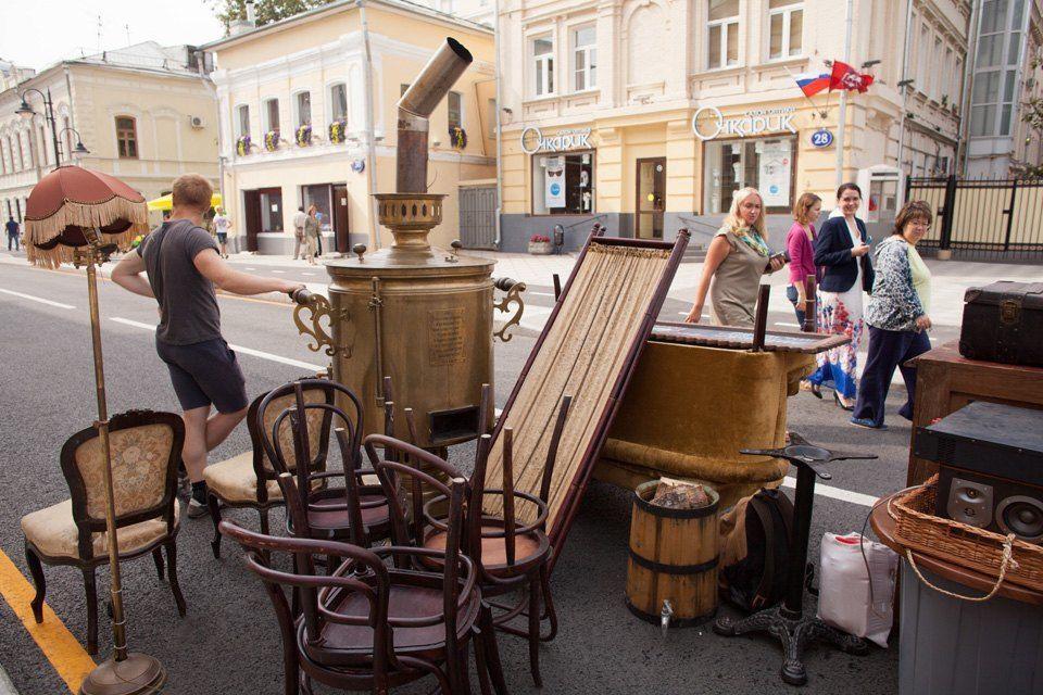 Ir de compras en Moscú